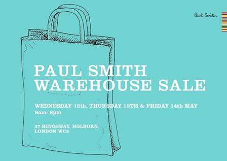 Paul Smith Warehouse Sale