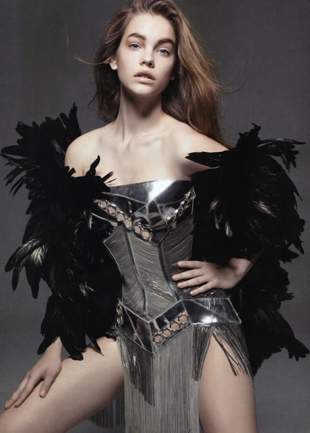 Barbara Palvin by Liz Collins in Voodoo Child