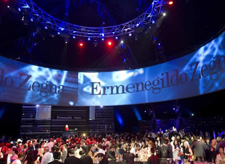 Zegna Throws a Party in Shanghai