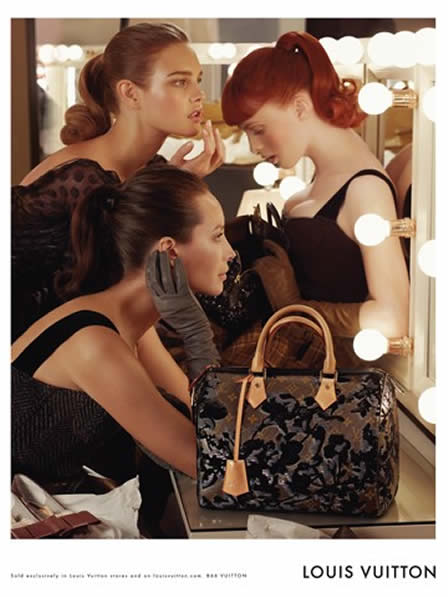 Christy Turlington, Karen Elson and Natalia Vodianova for Vuitton