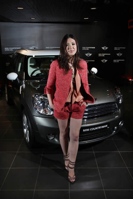 New MINI Countryman, Timbaland and Michelle Branch