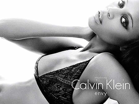 Zoe Saldana Is the New Face of Calvin Klein Underwear