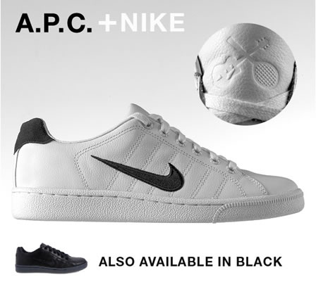 Nike Trainers + APC Clothing = Classic Collaboration!