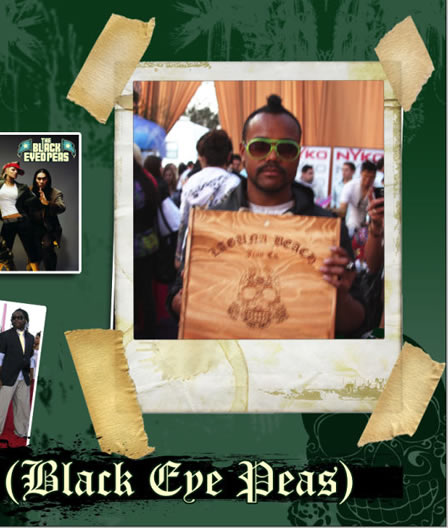 <br /> Apple Black Eyed Peas wears Laguna Beach Jeans