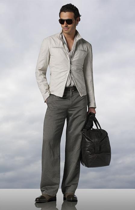 Armani Collezioni Clothing S/S 2008