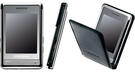 Armani + Samsung mobile cell phone
