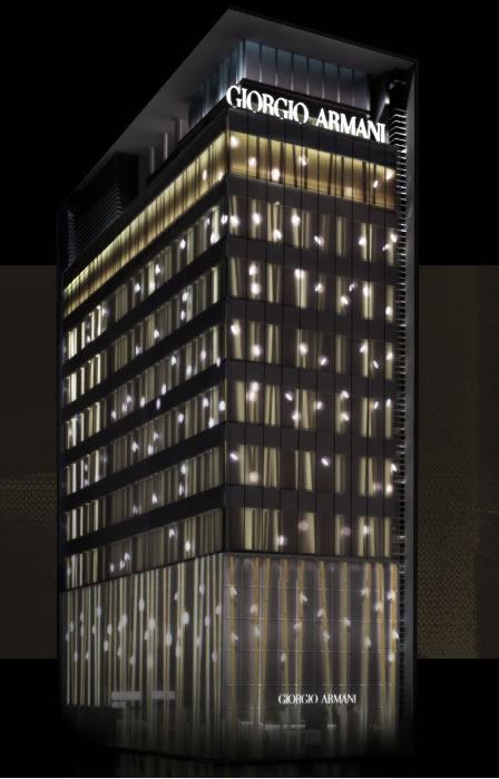 Giorgio Armani + Armani/Ginza Tower
