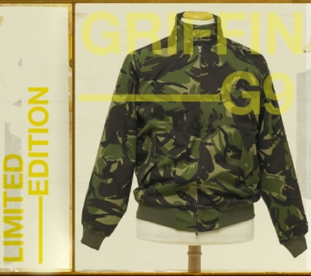 Baracuta Harrington x Griffin Camo Jacket