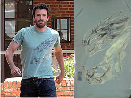 Ben Affleck in KU T-Shirt