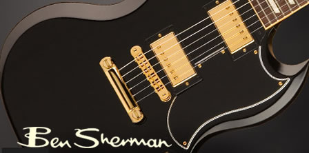 Ben Sherman Clothing + Gibson Guitar = Iconic!