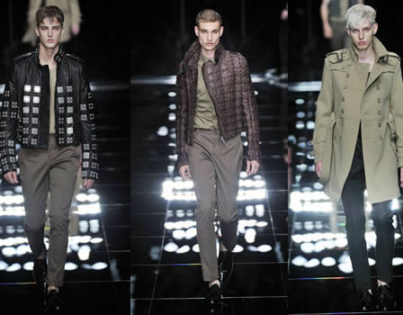 BURBERRY Biker Fashion