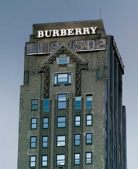 Burberry Manhattan skyline