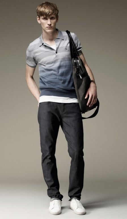 BURBERRY MENSWEAR DENIM COLLECTION SPRING SUMMER 2009