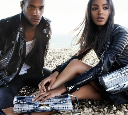 JOURDAN DUNN AND SACHA M'BAYE for Burberry