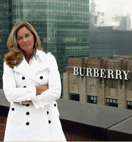 Burberry sign across Manhattan