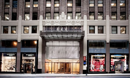 <br /> Burberry Store, 444 Madison Avenue in New York