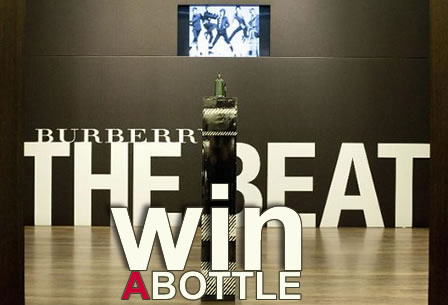 WIN a bottle! Burberry, The Beat for Men