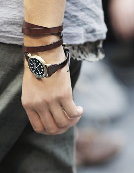 Burberry Wrap Strap Watches