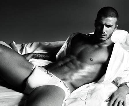 David Beckham x Armani Underwear