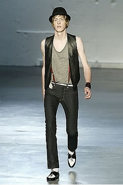 Dior Homme + Dior slim Jeans = YSL style epiphany!