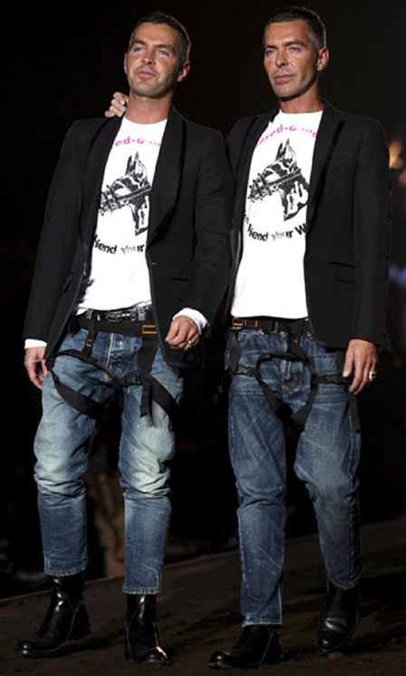 DSquared2 Twins host Launch My Line