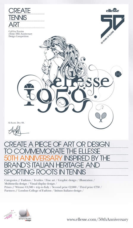 ellesse Sportswear + Design Competition