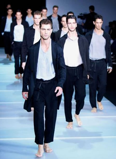 Emporio Armani men's Spring-Summer 2012 collection