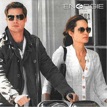 Energie jeans + Brad Pitt