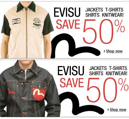 0820643a9c27 Evisu Sale – Save 50% – Kitmeout Designer Clothes – Fashion Blog ...