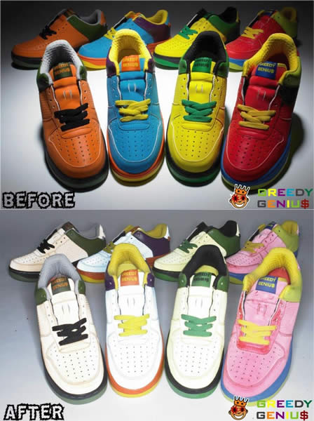 Greedy Genius Sneakers + Reflective Shoes