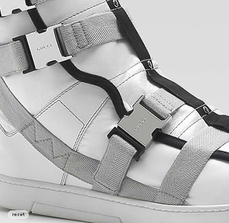 Gucci Boots, S/S 2010 – GSB9 High Top Buckle Sneakers