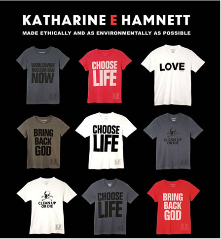 Katherine Hamnett T-Shirts & Clothing