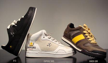 Sapporo + Jhung Yuro  = Designer Sneakers