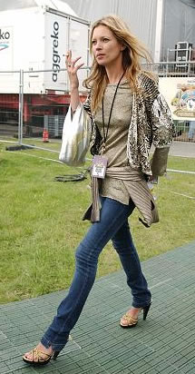 Kate Moss Best-Dressed Woman