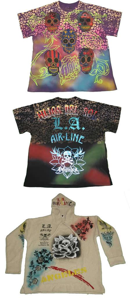 LA Airline T-Shirts & Hoody A/W 2007