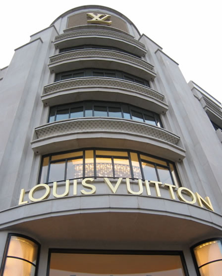 Louis Vuitton Shoes & Clothing on the up!