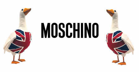 'Moschino Jeans, Clothing & Christmas Trees!