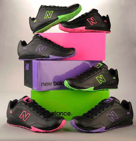 New Balance Sneakers - Black Licorice 442 collection