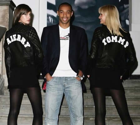 One 4 All Clothing, Tommy Hilfiger + Thierry Henry