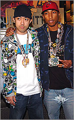 Billionaire Boys Club Pharrel Williams & Nigo