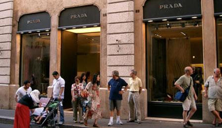 Gucci Clothes & Prada Clothes under a Chav Attack?
