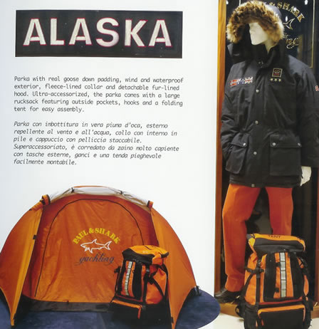 Paul & Shark Jacket + P&S Parka = Ultra-accessorized!