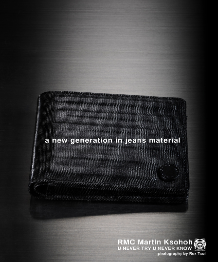 Red Monkey Denim Wallet
