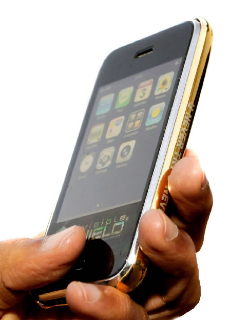 Limited Edition gold IPHONE