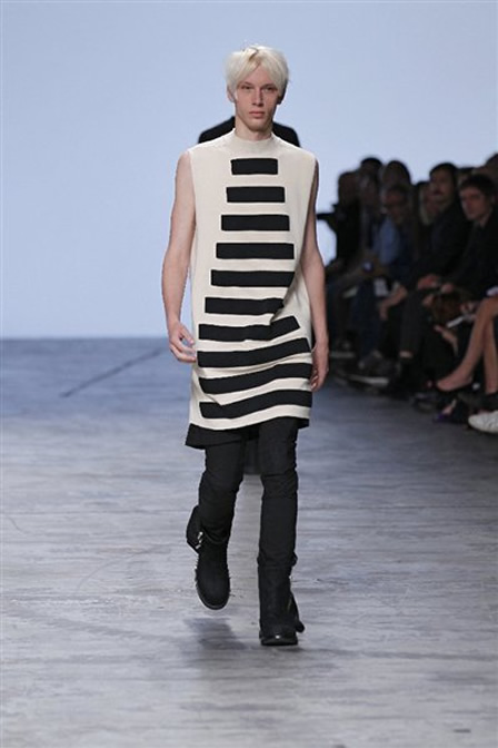 Rick Owens Menswear Clothing S/S12
