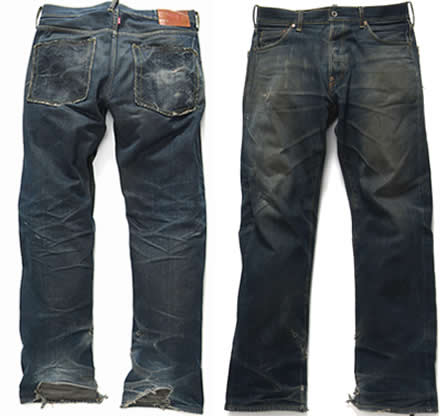 RMC Jeans after a few years