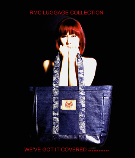 RMC Limited Edition Denim Luggague