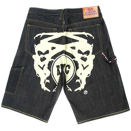 RMC Red Monkey Denim Shorts