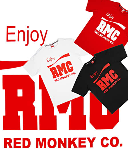 RMC Red Monkey T-Shirts