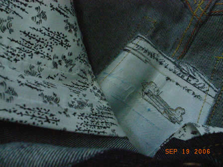 RMC fake jeans